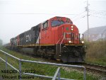 CN 5732 on the 402 East
